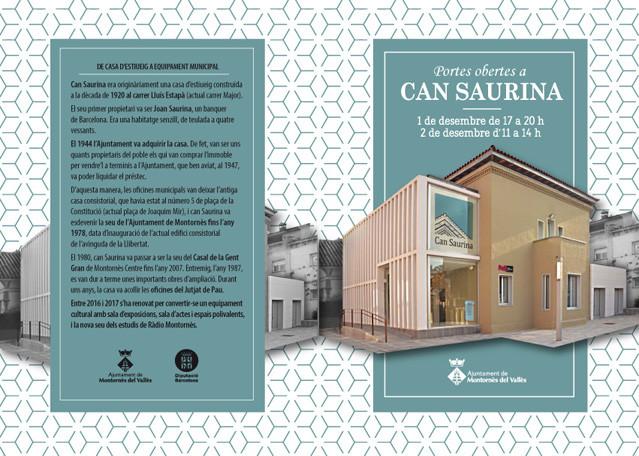 Can Saurina, Montornes